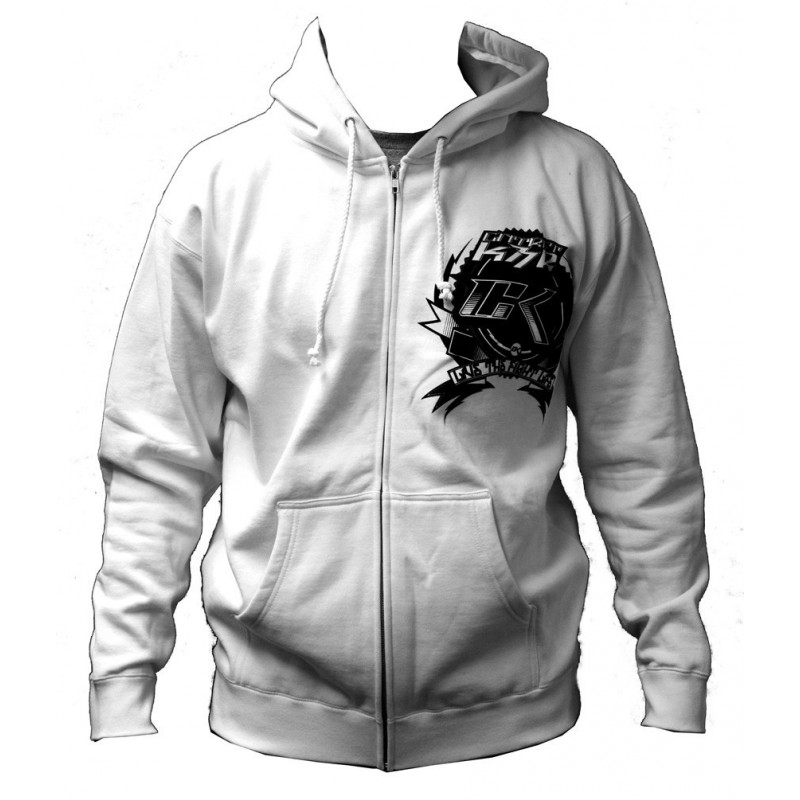 CONTRACT KILLER CK FACTORY HOODY WHITE
