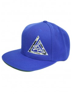 GRACIE CAMO SNAPBACK- ROYAL...