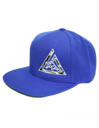 GRACIE CAMO SNAPBACK- ROYAL BLUE
