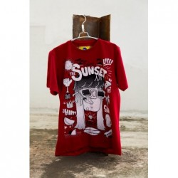 CUBICA SUNSET T-SHIRT