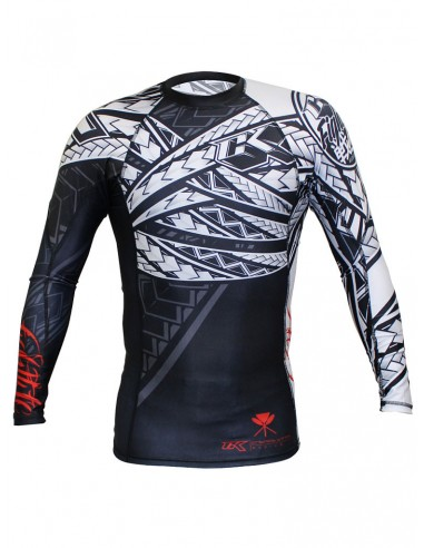 CONTRACT KILLER TRIBAL RASHGUARD LONG...